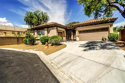 Las Vegas Single Family Home For Sale: 5590 Casa Monica Court