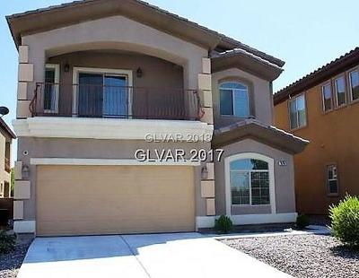 Las Vegas Single Family Home For Sale: 7625 Montblanc Court
