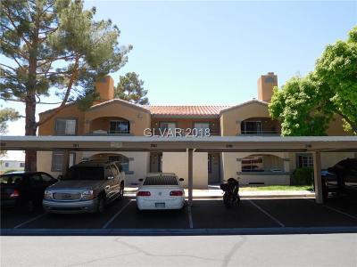 Las Vegas Condo/Townhouse For Sale: 231 Mission Newport Lane #201