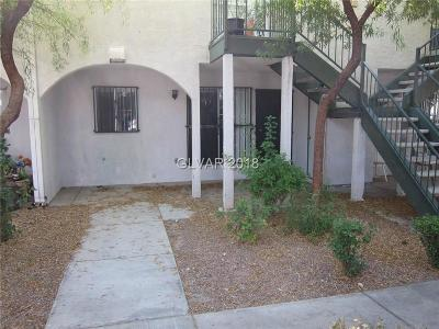 Las Vegas Condo/Townhouse For Sale: 2480 Old Forge Lane #64