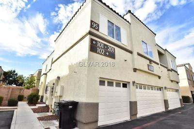 North Las Vegas Condo/Townhouse For Sale: 6321 Blowing Sky Street #1