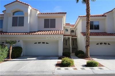Las Vegas Condo/Townhouse For Sale: 7601 Rolling View Drive #202