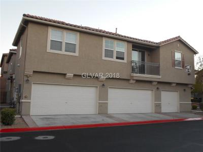 North Las Vegas Condo/Townhouse For Sale: 495 Westminster Hall Avenue #2