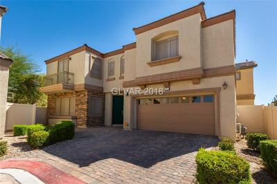 North Las Vegas Single Family Home For Sale: 3521 Simmering Sun Court