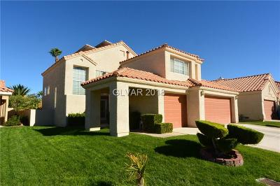 Las Vegas Single Family Home For Sale: 5512 Whiteleaf Court