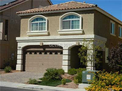 Las Vegas Single Family Home For Sale: 6034 Pirates Delight Avenue