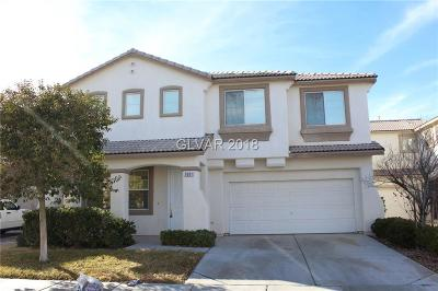 Las Vegas Single Family Home For Sale: 9881 Del Mar Heights Street