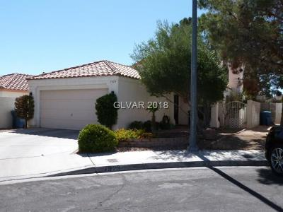 Las Vegas Single Family Home Under Contract - No Show: 7929 Cherry Valley Circle