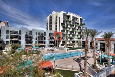 Las Vegas, North Las Vegas High Rise For Sale: 353 Bonneville Avenue #549