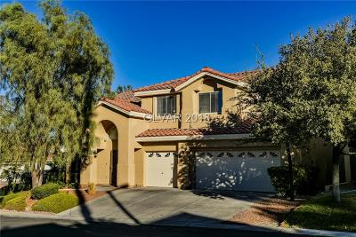 Las Vegas Single Family Home For Sale: 1728 Wandering Winds Way