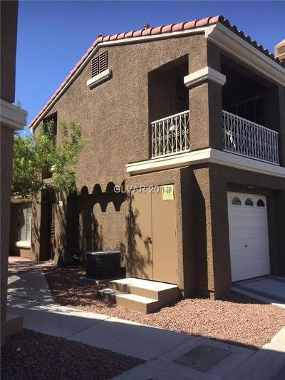 Las Vegas Condo/Townhouse For Sale: 5445 Shay Mountain Place #202