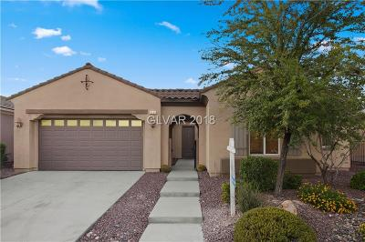 North Las Vegas Single Family Home For Sale: 6883 Barred Dove Lane