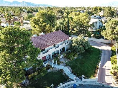Las Vegas Single Family Home For Sale: 2877 South Buffalo Drive