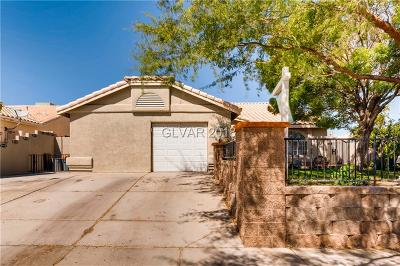 North Las Vegas Single Family Home For Sale: 2116 Cabrini Court