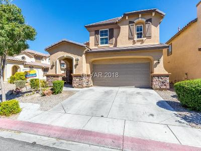 North Las Vegas Single Family Home For Sale: 6038 Cragged Draw Street