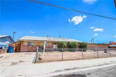 Las Vegas Single Family Home For Sale: 824 21st Street