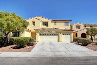 North Las Vegas Single Family Home For Sale: 6012 Golden Sun Court
