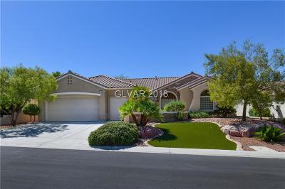 Henderson Single Family Home For Sale: 2755 Fort Myer Avenue
