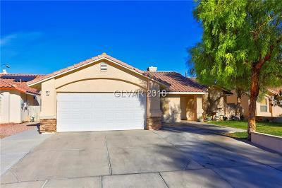 North Las Vegas Single Family Home For Sale: 6142 Marvin Street