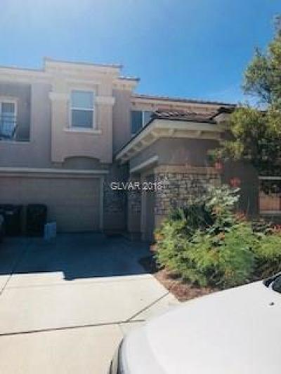 North Las Vegas Single Family Home For Sale: 6873 Quiet Peeps Place