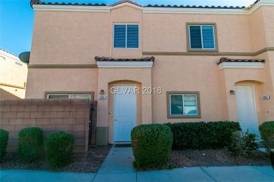 North Las Vegas Condo/Townhouse For Sale: 6328 Sandy Ridge Street #101