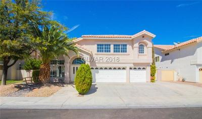 Las Vegas Single Family Home For Sale: 7420 Bush Garden Avenue