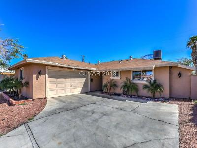 Las Vegas Single Family Home For Sale: 6201 Arlington Avenue