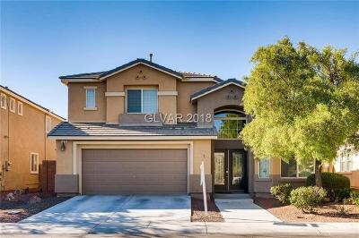 North Las Vegas Single Family Home Under Contract - Show: 3525 Kingfishers Catch Avenue