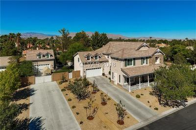 Las Vegas Single Family Home For Sale: 5110 Blissful Valley Circle