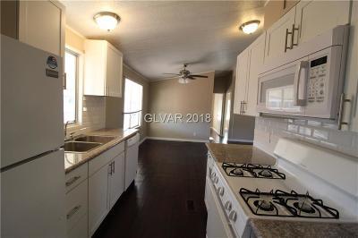 Las Vegas NV Single Family Home For Sale: $136,500