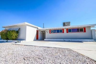 Las Vegas Single Family Home For Sale: 1909 Ryan Avenue