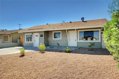 NORTH LAS VEGAS Single Family Home For Sale: 3415 Dillon Avenue