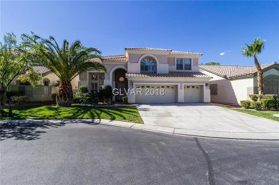 Las Vegas Single Family Home For Sale: 53 Sully Creek Court