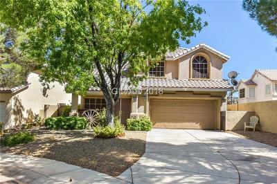Las Vegas Single Family Home For Sale: 1600 Rappeling Court Court