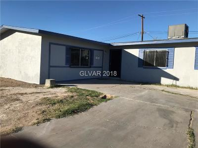 NORTH LAS VEGAS Single Family Home For Sale: 1206 Helen Avenue