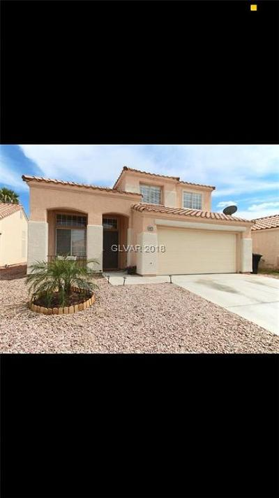 NORTH LAS VEGAS Single Family Home For Sale: 4822 Via Maria Court