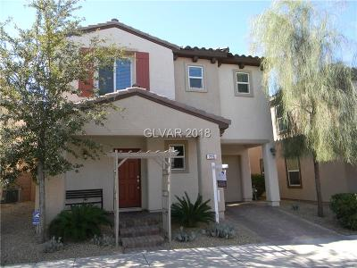 Henderson Single Family Home For Sale: 225 Caraway Bluffs Place