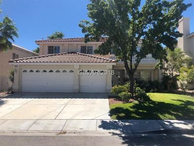 Las Vegas Single Family Home For Sale: 6605 Shadow Cove Avenue