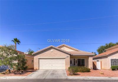 North Las Vegas Single Family Home For Sale: 3730 Caribbean Blue Avenue