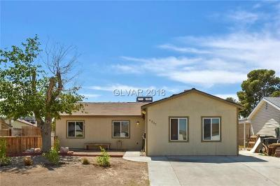 Las Vegas Single Family Home For Sale: 6337 Molino Street