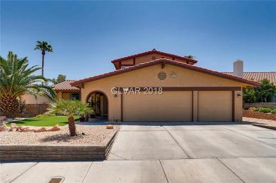 Las Vegas Single Family Home For Sale: 7474 Puritan Avenue