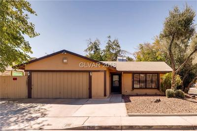 Las Vegas Single Family Home For Sale: 2900 Demetrius Avenue