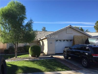 Henderson Single Family Home For Sale: 1724 Summerwood Circle