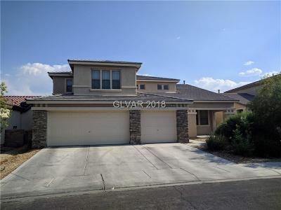 North Las Vegas Single Family Home For Sale: 2009 Caddo Mills Avenue