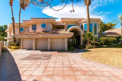 Las Vegas Single Family Home For Sale: 42 Sawgrass Court