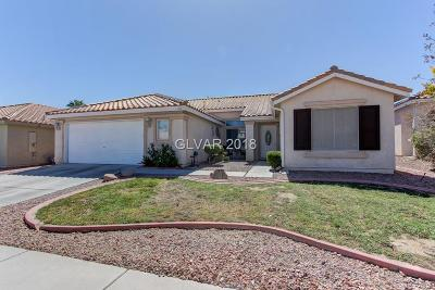 North Las Vegas Single Family Home For Sale: 1827 Night Shadow Avenue