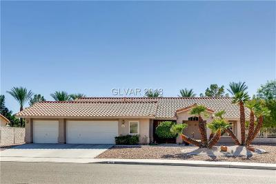 North Las Vegas Single Family Home For Sale: 5601 Clay Ridge Road