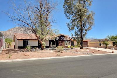 Las Vegas Single Family Home For Sale: 1270 Los Meadows Drive