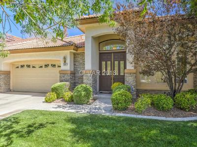 Clark County Single Family Home Sold: 2024 Scarlet Rose Drive