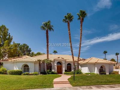 Las Vegas Single Family Home For Sale: 2031 Diamond Bar Drive